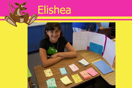 Elishea Pilloroo Kid of the Week